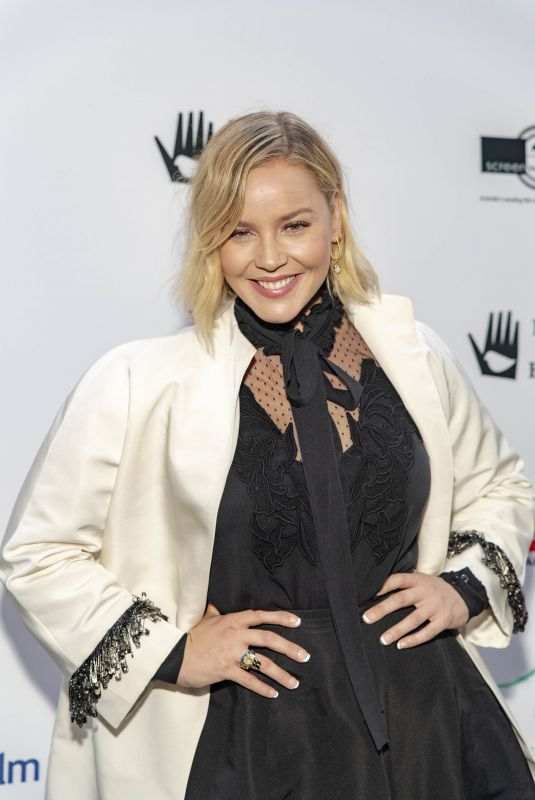 ABBIE CORNISH at 10th Anniversary Heath Ledger Scholarship in Los Angeles 09/20/2018