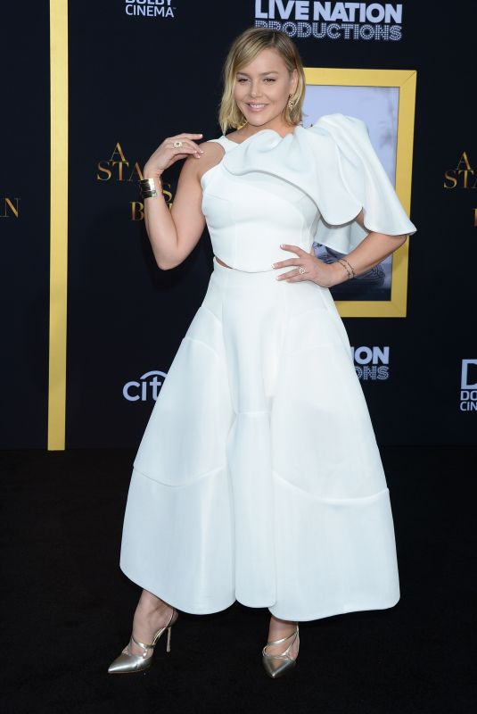 ABBIE CORNISH at A Star is Born Premiere in Los Angeles 09/24/2018