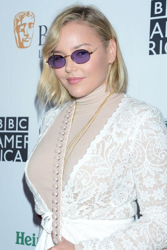 ABBIE CORNISH at Bafta LA + BBC America TV Tea Party in Beverly Hills 09/15/2018