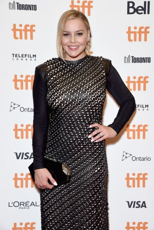 ABBIE CORNISH at Where Hands Touch Premiere at TIFF 2018 in Toronto 09/09/2018