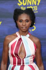 ADINA PORTER at Its Always Sunny in Philadelphia Season 13 Premiere in Los Angeles 04/09/2018