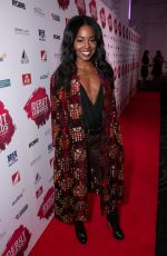 ADRIENNE WARREN at Stage Debut Awards 2018 Arrivals in London 09/23/2018