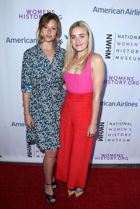 AJ and ALY MICHALKA at Women Making History Awards in Beverly Hills 09/15/2018