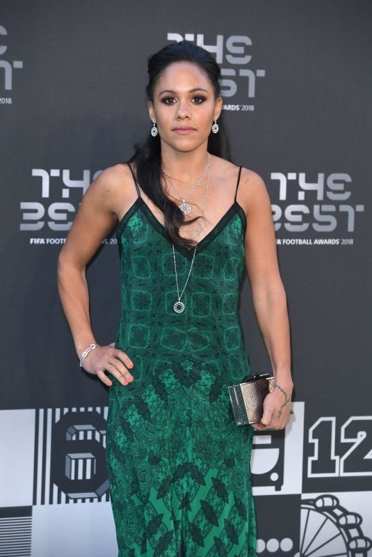 ALEX SCOTT at Fifa Football Awards in London 09/24/2018