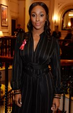 ALEXANDRA BURKE at Ten: A Decade of Dreams Fundraising Gala in London 09/30/2018