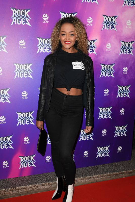 ALEXANDRA MARDELL at Rock of Ages Press Night in Manchester 09/25/2018