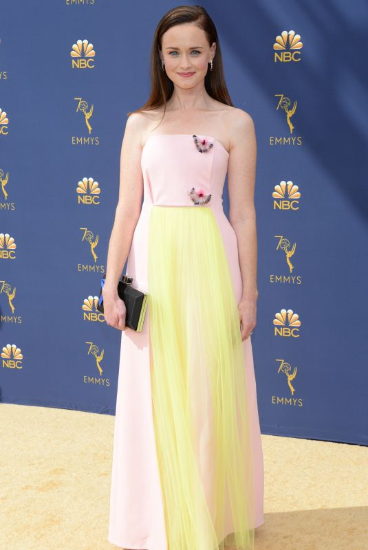 ALEXIS BLEDEL at Emmy Awards 2018 in Los Angeles 09/17/2018