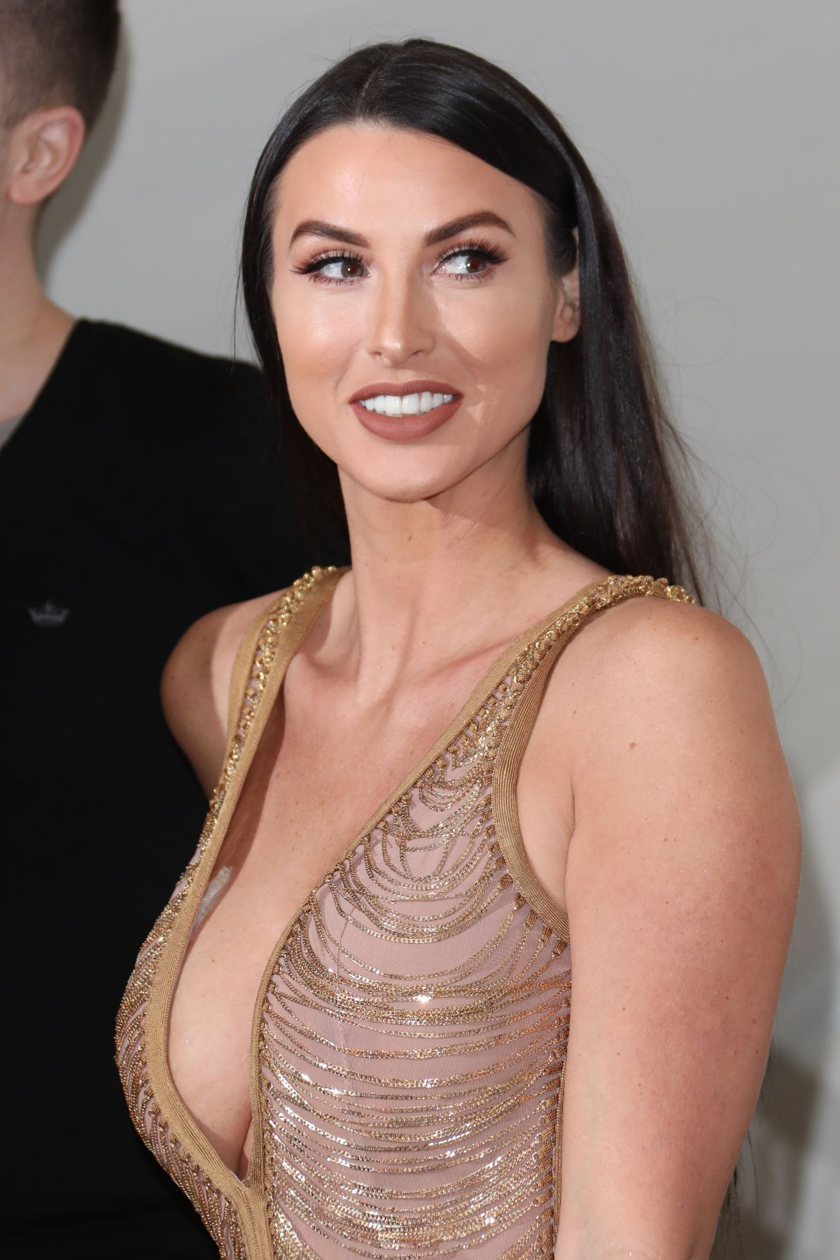 ALICE GOODWIN at 2018 National Reality TV Awards in London
