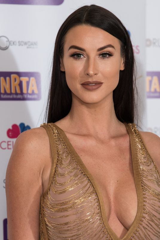 ALICE GOODWIN at 2018 National Reality TV Awards in London 09/25/2018