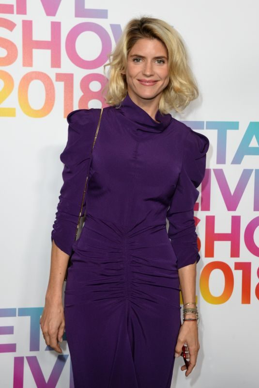 ALICE TAGLIONI  at Etam Show at Paris Fashion Week 09/24/2018