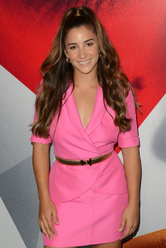 ALY RAISMAN at A Simple Favor Premiere in New York 09/10/2018