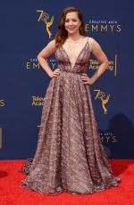 ALYSON HANNIGAN at Creative Arts Emmy Awards in Los Angeles 09/08/2018