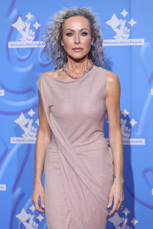 AMANDA MEALING at National Lottery Awards in London 09/21/2018