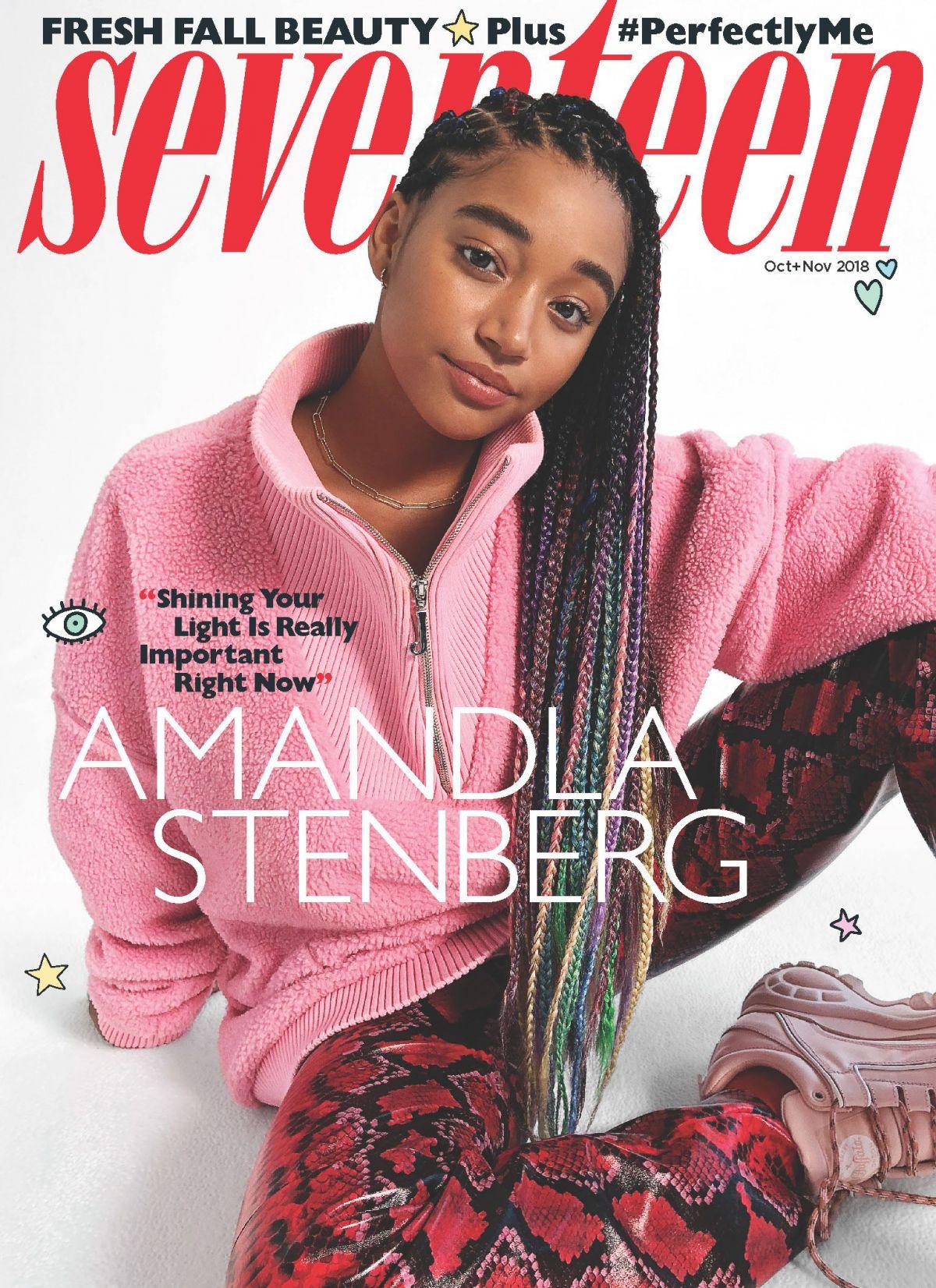 Amandla Stenberg Photoshoot amandla stenberg for seventeen magazine, october/november