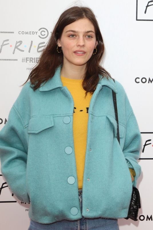 AMBER ANDERSON at Comedy Central's Friendsfest Launch in London 09/20/2018