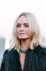 AMBER VALLETTA at Saint Laurent Show at Paris Fashion Week 09/25/2018