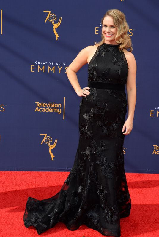 ANDREA BARBER at Creative Arts Emmy Awards in Los Angeles 09/08/2018