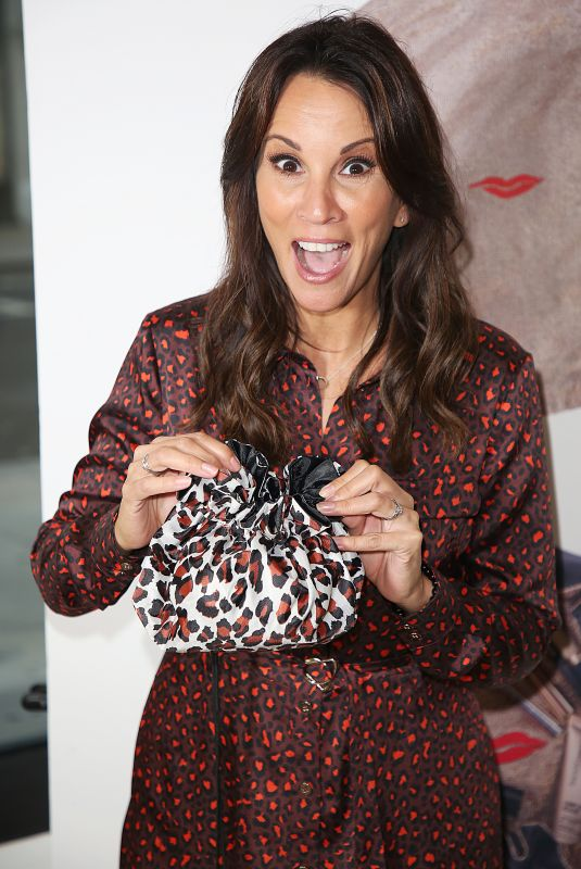 ANDREA MCLEAN at Donna May Make-up Launch Party in London 09/20/2018