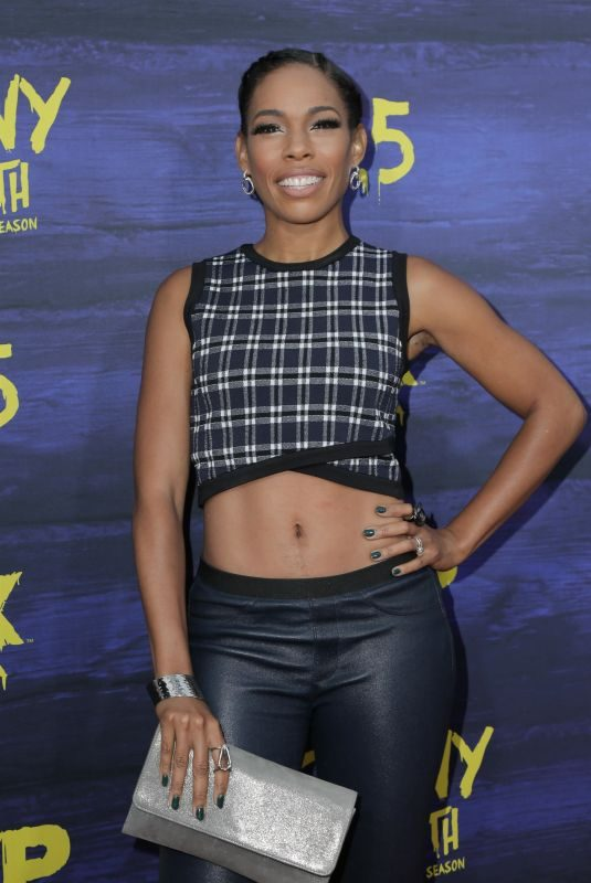 ANGELA LEWIS at Its Always Sunny in Philadelphia Season 13 Premiere in Los Angeles 04/09/2018