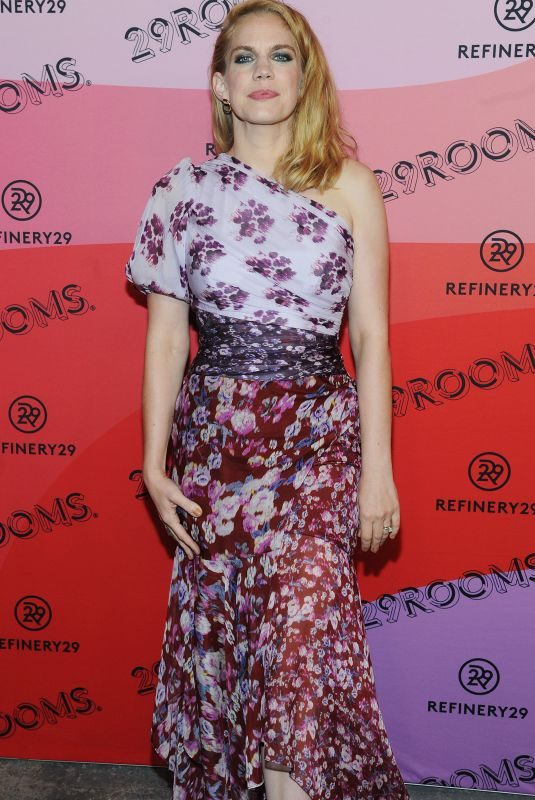 ANNA CHLUMSKY at 29rooms Opening Night in Brooklyn 09/05/2018