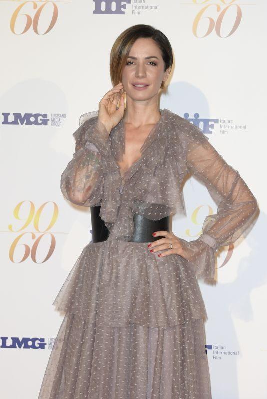 ANNA FOGLIETTA at Fulvio Lucisano Birthday Party in Rome 09/24/2018