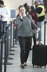 ANNA PAQUIN at Airport in Toronto 09/10/2018
