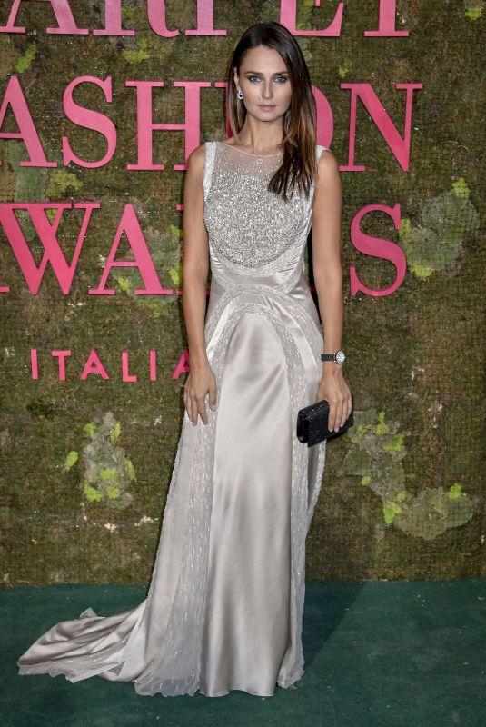 ANNA SAFRONCIK at Green Carpet Fashion Awards in Milan 09/23/2018