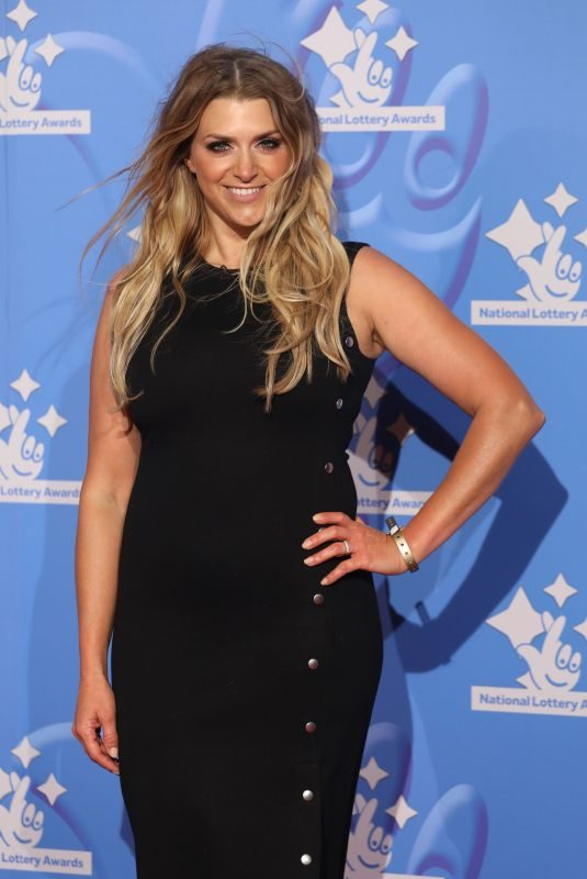 ANNA WILLIAMSON at National Lottery Awards in London 09/21/2018