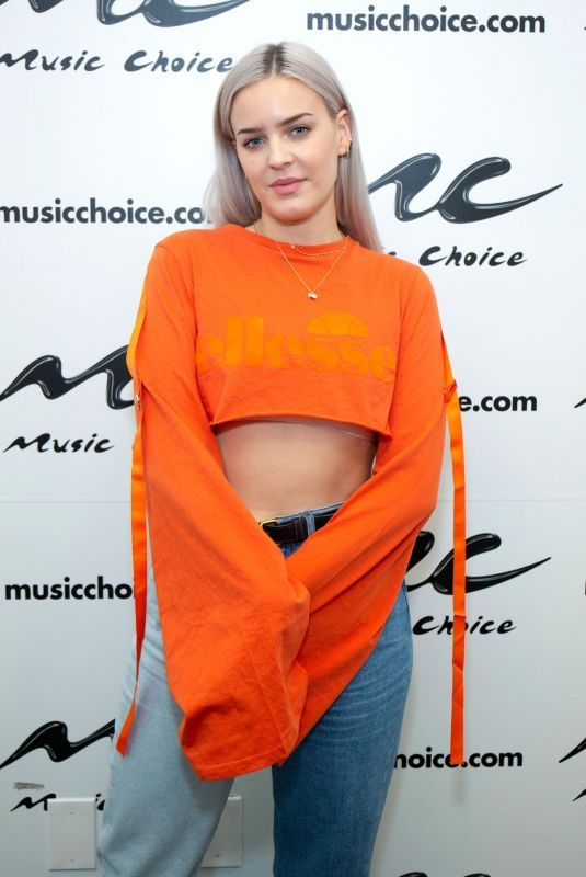 ANNE MARIE at Music Choice in New York 09/20/2018