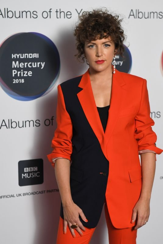 ANNIE MAC at Mercury Prize Albums of the Year Awards in London 09/20/2018