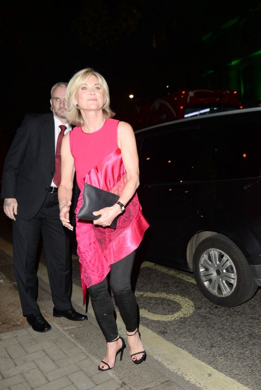 ANTHEA TURNER at Best Heroes Awards in London 09/24/2018