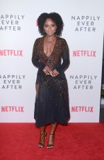 ANTOINETTE ROBERTSON at Nappily Ever After Special Screening in Los Angeles 09/20/2018