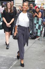 ANTONIA THOMAS Arrives at AOL Build Series in New York 09/26/2018