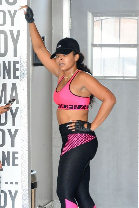 ASHANTI Working at Dominatrix Gym in Los Angeles 09/23/2018