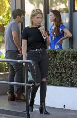 ASHLEY BENSON Out for Coffee in West Hollywood 09/18/2018