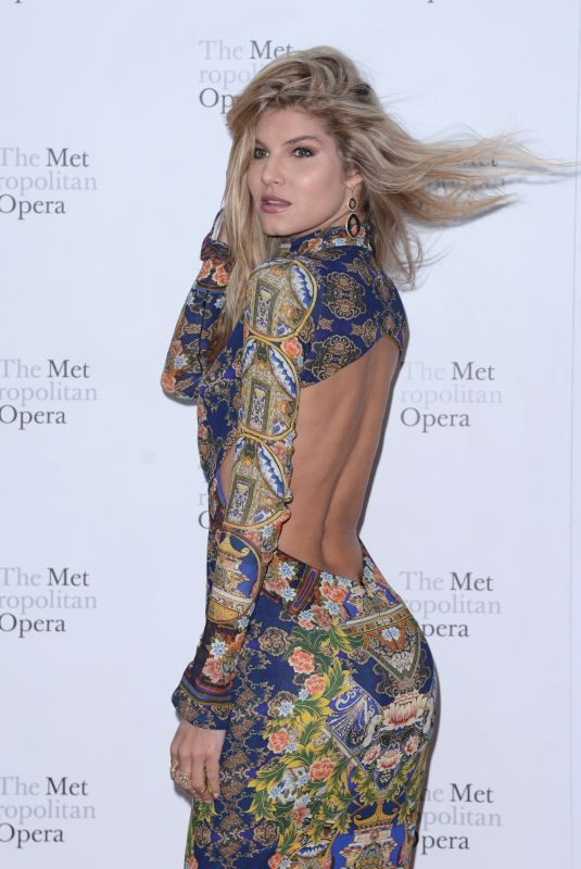 ASHLEY HAAS at Metropolitan Opera Opening Night in New York 09/24/2018