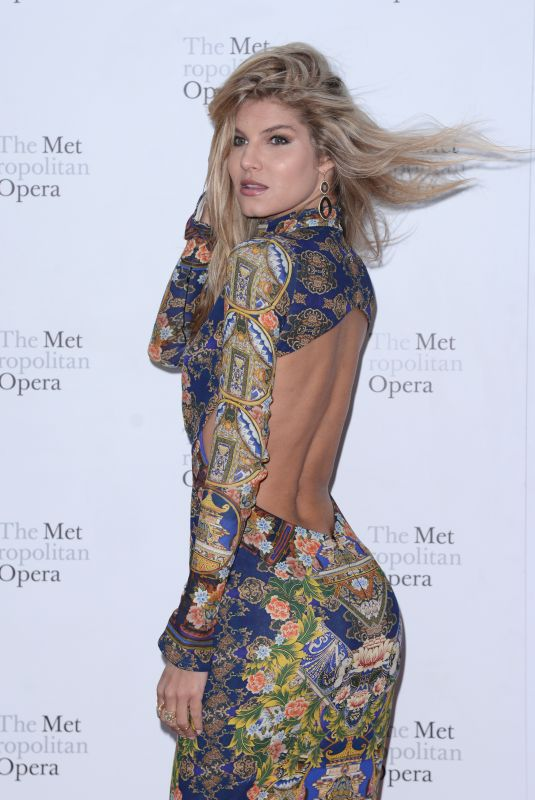 ASHLEY HAAS at Metropolitan Opera Opening Night in New York 09/24/2018