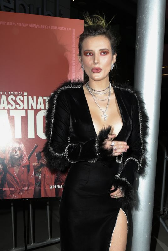 BELLA THORNE at Assassination Nation Premiere in Hollywood 09/12/2018