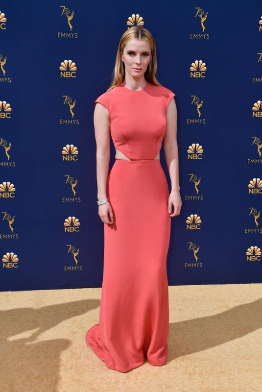 BETTY GILPIN at Emmy Awards 2018 in Los Angeles 09/17/2018