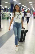 BIANCA BALTI at Airport in Milan 09/24/2018