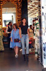 BIANCA BALTI Shopping on Via Montenapoleone in Milan 09/20/2018