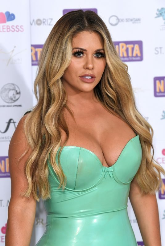 BIANCA GASCOIGNE at 2018 National Reality TV Awards in London 09/25/2018