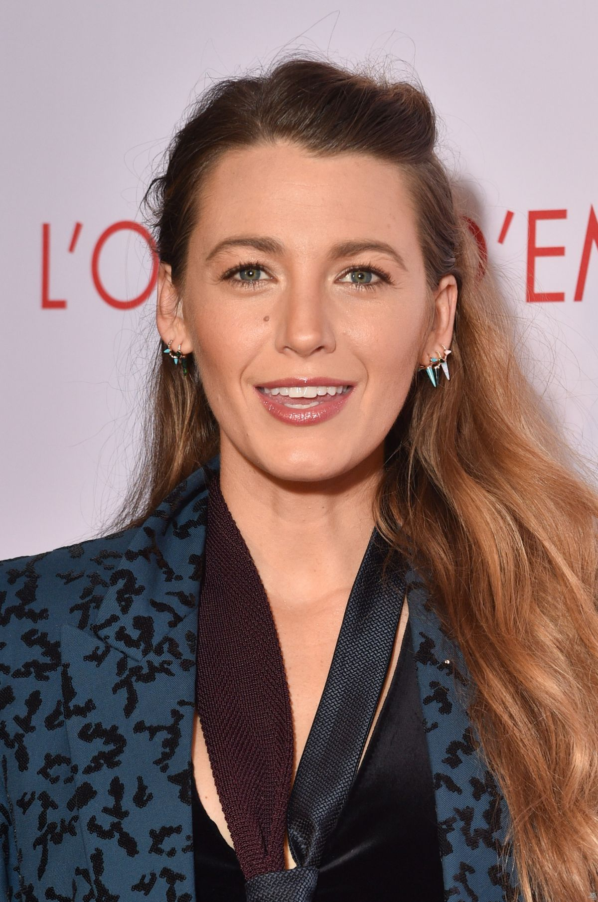 BLAKE LIVELY at A Simple Favour Premiere in Paris 09/18 ...
