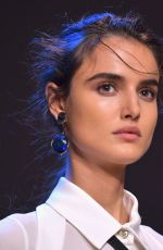 BLANCA PADILLA at Elie Saab Runway Show at Paris Fashion Week 09/29/2018