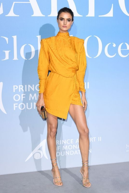 BLANCA PADILLA at Gala for the Global Ocean in Monte Carlo 09/26/2018