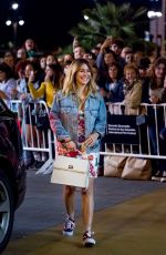 BLANCA SUAREZ Arrives at Her Hotel in San Sebastian 09/24/2018