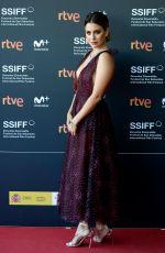 BLANCA SUAREZ at Tiempo Despues Premiere at San Sebastian International Film Festival 09/25/2018