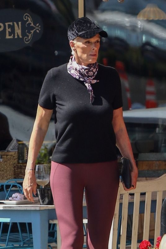 BRIGITTE NIELSEN Out for Lunch in Studio City 09/25/2018