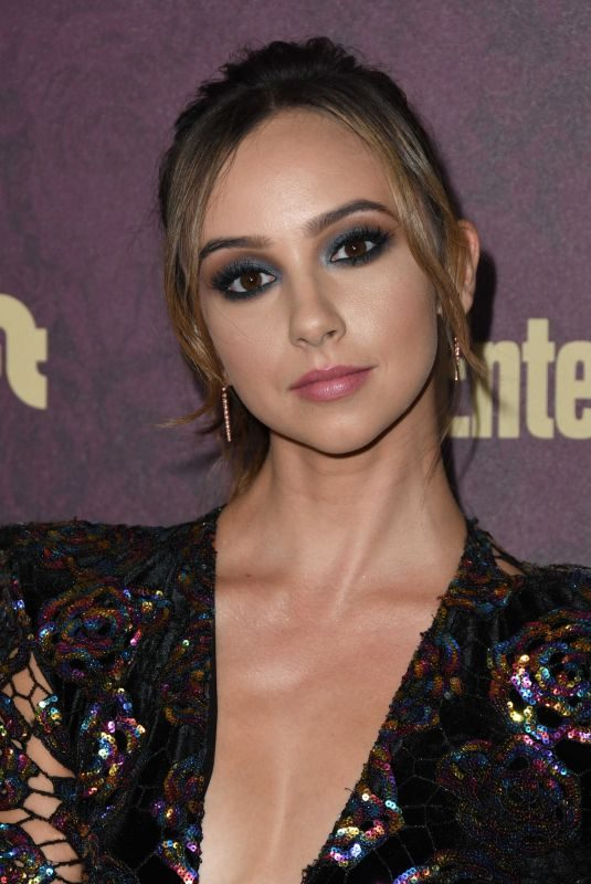 BRITT BARON at EW and L'Oreal Paris Pre-emmy Party in Hollywood 09/15/2018