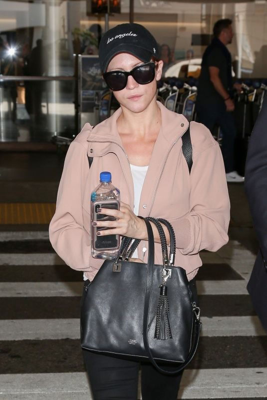 BRITTANY SNOW at Los Angeles International Airport 09/21/2018